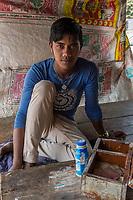 Sharozit Das, toilet caretaker, Jhenaidah