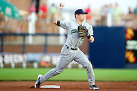 Cedar Rapids Kernels second baseman Alex Yarbrough #2 during a game against the Quad Cities River Bandits at Modern Woodmen Park on June 30, 2012 in Davenport, Illinois.  Quad Cities defeated Davenport 8-7.  (Mike Janes/Four Seam Images)