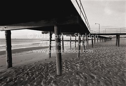 Boardwalk along beach<br />