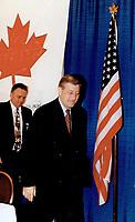 Harris; Mike - Election Campaign - 1995<br /> <br /> Photo : Boris Spremo - Toronto Star archives - AQP