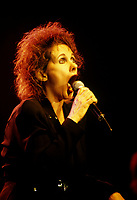 Montreal (Qc) CANADA - File Photo - August 1994-<br /> Diane Dufresne at Montreal Francofolies<br /> <br /> -Photo (c)  Images Distribution<br /> <br /> NOTE : New Scan
