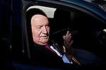 Former King Juan Carlos I of Spain attends to 40 Anniversary of Spanish Constitution at Congreso de los Diputados in Madrid, Spain. December 06, 2018. (ALTERPHOTOS/A. Perez Meca)