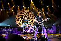 Soundgarden live in concert at the Verizon Theatre on October 26, 2011 in Grand Prairie, TX.