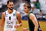 TDAYS EuroCup 2020-2021.Round 1.<br /> Joventut Badalona vs Partizan NIS Belgrado: 85-82.<br /> Stefan Jankovic vs Vladimir Brodziansky.