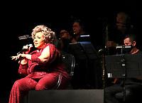 """São Paulo (SP), 11/09/2021 - Entretenimento - A cantora Alcione apresenta seu show """"Tijolo por Tijolo"""", neste sábado (11) no Grupo Tom Brasil, na cidade de São Paulo (SP)."""