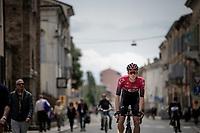 Salvatore Puccio (ITA/Ineos) on his way to the start<br /> <br /> Stage 10: Ravenna to Modena (147km)<br /> 102nd Giro d'Italia 2019<br /> <br /> ©kramon
