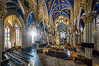 January 17, 2018; Interior of the Basilica of the Sacred Heart (Photo by Matt Cashore/University of Notre Dame)