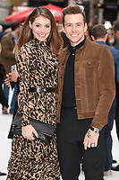 """Georgia and Danny Jones<br /> at the World Premiere of  """"King of Thieves"""", Vue Cinema Leicester Square, London<br /> <br /> ©Ash Knotek  D3429  12/09/2018"""