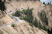 breakaway group up the Col de l'Izoard (HC/2354m/14.2km@7%), in the Casse Déserte<br /> <br /> Stage 18: Embrun to Valloire (208km)<br /> 106th Tour de France 2019 (2.UWT)<br /> <br /> ©kramon