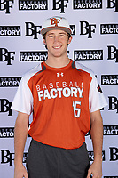 Turner Symonds (15) of Fort Worth Country Day School in Fort Worth, Texas during the Baseball Factory All-America Pre-Season Tournament, powered by Under Armour, on January 12, 2018 at Sloan Park Complex in Mesa, Arizona.  (Mike Janes/Four Seam Images)