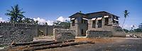 Afrique/Afrique de l'Est/Tanzanie/Bagamoyo: ruines de l'Usugara Company Store temoignage de la presence commerciale allemande