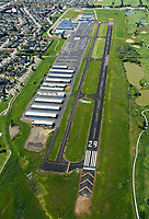 aerial photograph of the Petaluma Municipal Airport (O69), Petaluma, Sonoma County, California