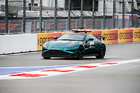25th September 2021; Sochi, Russia; F1 Grand Prix of Russia  qualifying sessions;  Safety car during the Formula 1 VTB Russian Grand Prix