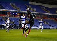 10th February 2021; Madejski Stadium, Reading, Berkshire, England; English Football League Championship Football, Reading versus Brentford; Ethan Pinnock of Brentford