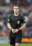 Hearts v St Johnstone…05.11.16  Tynecastle   SPFL<br />Referee Don Robertson<br />Picture by Graeme Hart.<br />Copyright Perthshire Picture Agency<br />Tel: 01738 623350  Mobile: 07990 594431