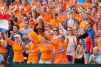 15-09-12, Netherlands, Amsterdam, Tennis, Daviscup Netherlands-Suisse, Doubles, Robin Haase/Jean-Julian Rojer  Dutch supporters