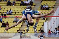 9th July 2021, Monaco, France; Diamond League Athletics, Herculis meeting, Monaco; Andriy Protsenko Ukraine  mens high jump