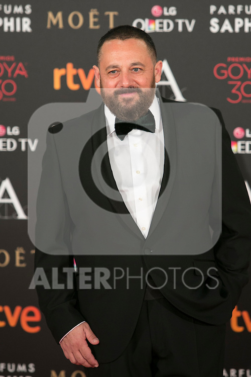 Peon Nieto attends 30th Goya Awards red carpet in Madrid, Spain. February 06, 2016. (ALTERPHOTOS/Victor Blanco)
