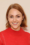 "AnnaSophia Robb in rehearsal with Red Bull Theater's All-Female ""MACBETH"" at the Vineyard Theatre Rehearsal Studios on April 12, 2019 in New York City."