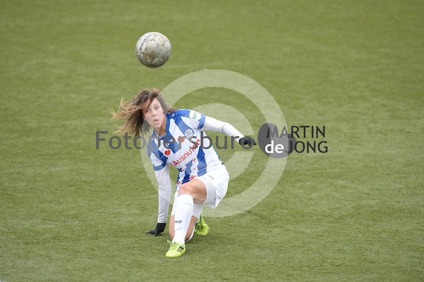 VOETBAL: NIEUWEHORNE: 21-03-2021, Sportcomplex UDIROS, SC Heerenveen - PEC Zwolle, uitslag 0-1, ©foto Martin de Jong