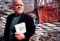 Sarajevo / BIH 1994.Abdulah Sidran was born in 1945 in Bieniesevo, in Bosnia and Herzegovina. He quickly became one of the greatest poets of Bosnia and Herzegovina, but also of all ex-Yugoslavia. Some of his collections marked the literary life of his country (Chahbase, Ars poetica, Testament of marvellous) and were partially translated into various languages. He is universally known as scenario writer of films of Emir Kusturica and Ademir Kenovi. .Photo Livio Senigalliesi