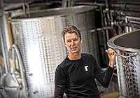 Lead winemaker Rican Rossouw at Lovinston Vineyards in Lovingston, Va. Photo/Andrew Shurtleff