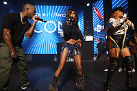 NEW YORK, NY- SEPTEMBER 14: Ja Rule, Vita and Lil' Mo pictured at Fat Joe And Ja Rule Verzuz Battle at The Hulu Theater at Madison Square Garden in New York City on September 14, 2021. Credit: Walik Goshorn/MediaPunch