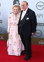 HOLLYWOOD, LOS ANGELES, CA, USA - JUNE 05: Barbara Davis, Clive Davis at the 42nd AFI Life Achievement Award Honoring Jane Fonda held at the Dolby Theatre on June 5, 2014 in Hollywood, Los Angeles, California, United States. (Photo by Xavier Collin/Celebrity Monitor)