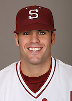 STANFORD, CA - JANUARY 7:  Michael Garza of the Stanford Cardinal baseball team poses for a headshot on January 7, 2009 in Stanford, California.