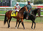 September 12, 2015:  #4 Princess Kennedy and jockey Gallyn Mitchell in the $200,000 Grade 2 Pocahontas for 2 year old fillies at Churchill Downs.  Candice Chavez/ESW/CSM