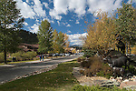 fall color, morning,  Estes Park, Colorado, Rocky Mountains