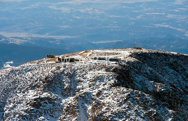 Summit of Pikes Peak. Feb 2013