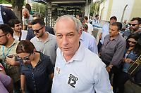 02.10.2019 - Ciro Gomes durante encontro com trabalhadores da GM