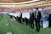 19.05.2018, Football DFB-Pokal Finale 2018, FC Bayern Muenchen - Eintracht Frankfurt, Olympiastadium in Berlin. Frankfurter  sportdirector  Bruno Huebner (Eintracht Frankfurt), Trainer Niko Kovac (Eintracht Frankfurt), Robert Kovac,  *** Local Caption *** © pixathlon<br /> <br /> Contact: +49-40-22 63 02 60 , info@pixathlon.de