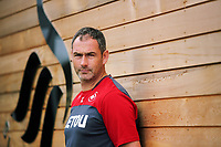 Swansea City FC manager Paul Clement at the Fairwood Training Ground, Swansea, Wales, UK. Thursday 24 August 2017