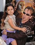 Billy Bob Thornton & his daughter at Warner Bros. World Premiere of Legend of the Guardians: The Owls of Ga'Hoole held at The Grauman's Chinese Theatre in Hollywood, California on September 19,2010                                                                               © 2010 Hollywood Press Agency