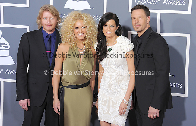 Little Big Town attends The 53rd Annual GRAMMY Awards held at The Staples Center in Los Angeles, California on February 13,2011                                                                               © 2010 DVS / Hollywood Press Agency