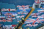 Rangers fans flags