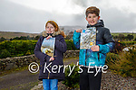 Cullina National school students Daragh O'Sullivan and Doireann Burke at home in Beaufort who are taking part in the Kids Climate Change Project. L to r: Doireann Burke and Daragh O'Sullivan