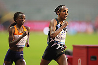 5th September 2020, Brussels, Netherlands;  The Netherlands Sifan Hassan R competes during the One Hour Women at the Diamond League Memorial Van Damme athletics event at the King Baudouin stadium in Brussels, Belgium