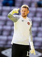 17th July 2021; Tynecastle Park, Edinburgh, Scotland;Pre Season Friendly Football, Heart of Midlothian versus Sunderland; Ross Stewart goalkeeper of Hearts
