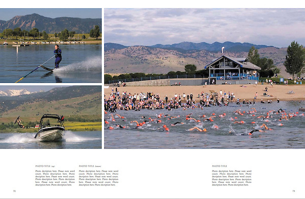 """Adventure sports photo workshops by John.<br /> From John's 4th book: """"Boulder, Colorado: A Photographic Portrait."""""""