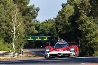 #708 Glickenhaus Racing Glickenhaus 007 LMH Hypercar, Luis Felipe Derani, Franck Mailleux, Olivier Pla, 24 Hours of Le Mans , Test Day, Circuit des 24 Heures, Le Mans, Pays da Loire, France
