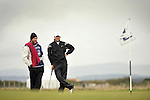 Pic Kenny Smith............. 02/10/2009.Dunhill Links Champioship, St Andrews  Links, Trevor Immelman contemplates his play on the 2nd hole