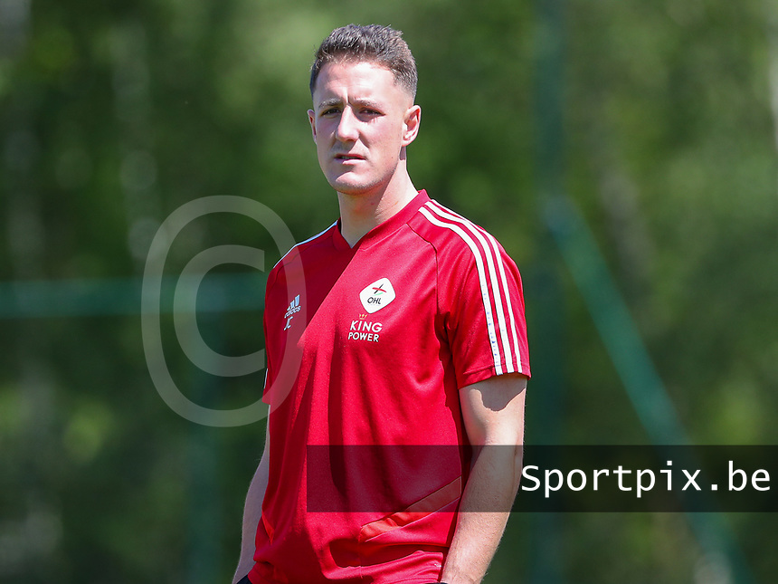 Head coach Jimmy Coenraets of OHL pictured before a female soccer game between Standard Femina de Liege and Oud Heverlee Leuven on the 10th and last matchday in play off 1 of the 2020 - 2021 season of Belgian Scooore Womens Super League , saturday 29 th of May 2021  in Angleur , Belgium . PHOTO SPORTPIX.BE | SPP | SEVIL OKTEM