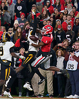 ATHENS, GA - NOVEMBER 09:  during a game between Missouri Tigers and Georgia Bulldogs at Sanford Stadium on November 09, 2019 in Athens, Georgia.