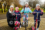 Enjoying a stroll in Tralee town park on Saturday, l to r: Deirdre, Joyce, Katie and Olivia Laide