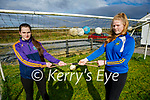 The Fitzmaurice sisters getting ready at home in Castleisland, for the Fittest Family challenge at the Castleisland Community College.  L to r: Sharon and Ava Fitzmaurice