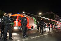 2014/09/18 Berlin | Feuer auf der Cuvrybrache