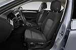 Front seat view of a 2020 Volkswagen Passat Style Business 4 Door Sedan front seat car photos